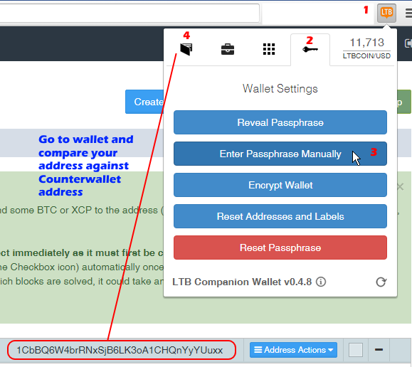 How to import private key from counterwallet to another wallet bitcoin core bitcoin qt armory etc ccuart Choice Image